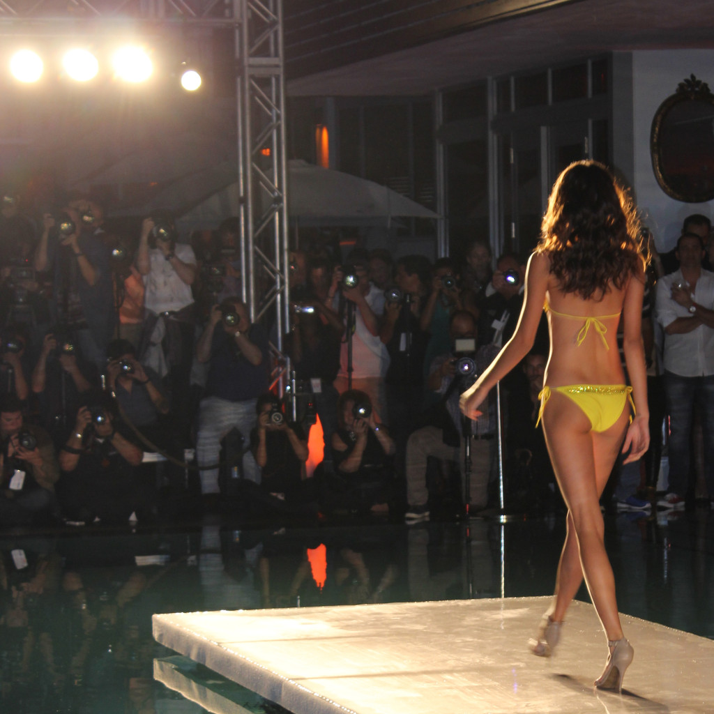 Miami Swim Week Yellow Swim Suit Paparazzi Barraca Chic