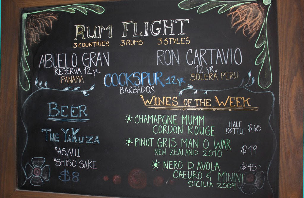 Sugarcane Raw Bar Grill Drinks Menu