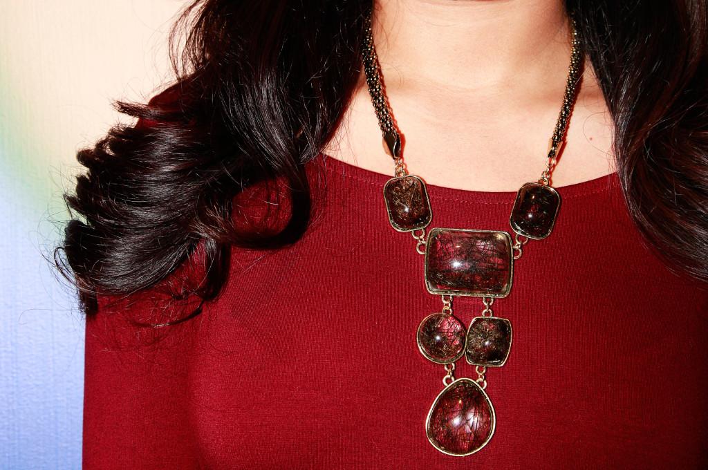 Miami Fashion Blogger Necklace