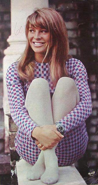 Julie Christie in Mod fashion 1960