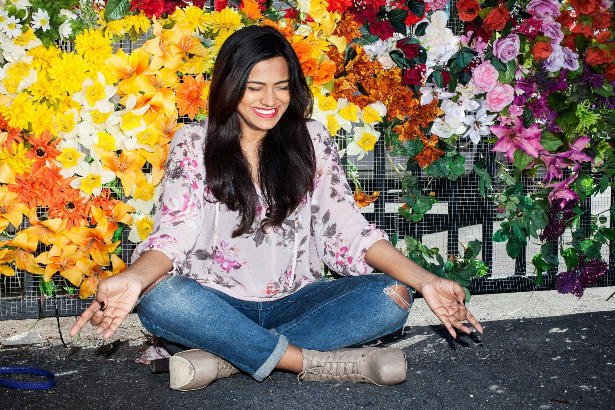 Miami Fashion Blogger Afroza Khan Wynwood Walls