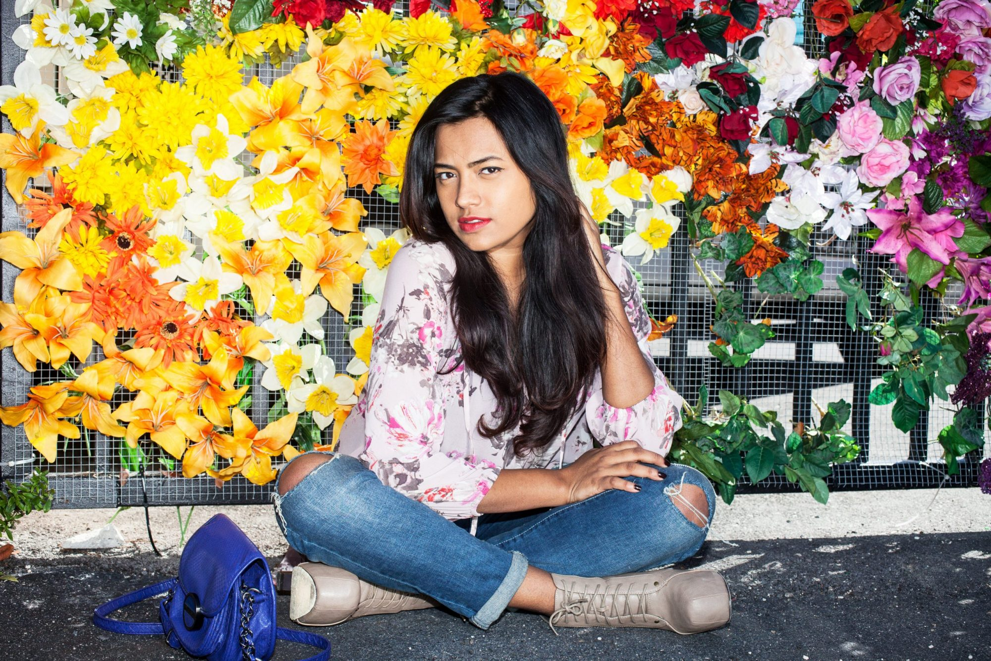 Miami Fashion Blogger Chic Stylista Afroza Khan Wynwood Walls
