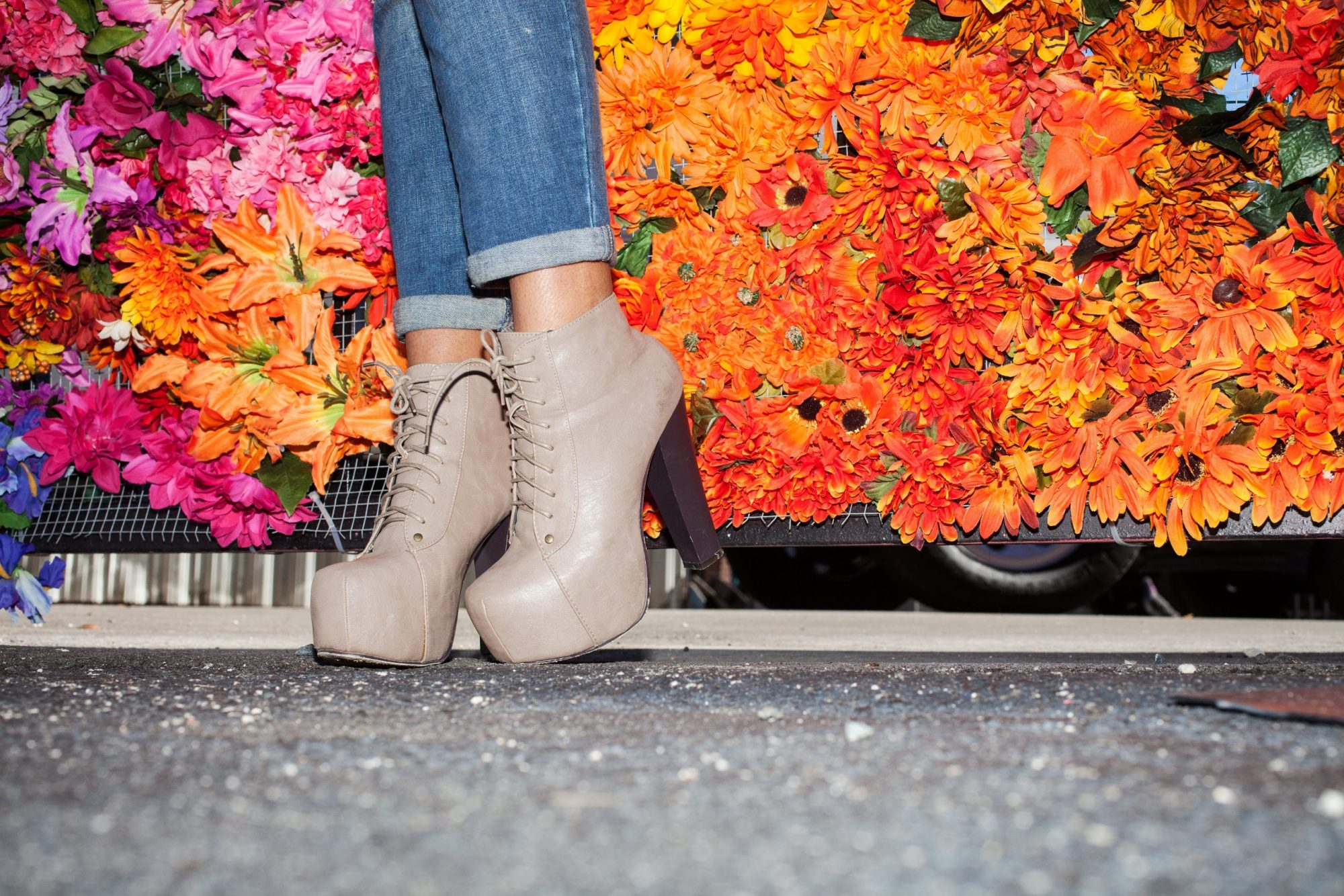 Miami Fashion Blogger Traffic Shoe Wynwood Walls