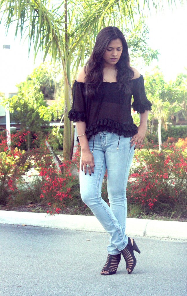 Miami Fashion Blogger Afroza Khan Maurices Jeans