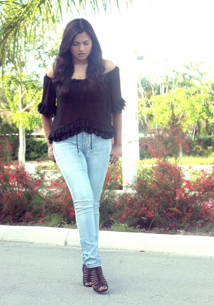 Miami Fashion Blogger Afroza Maurices Jeans