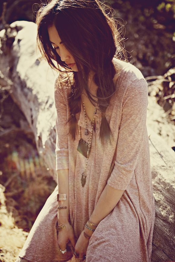 Bohemian Hippie Fashion Gypsy Hairstyle
