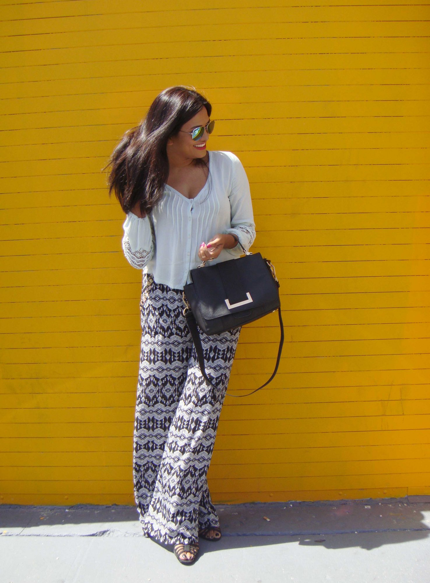 Miami Fashion Blogger Chic Stylista Pacsun Printed Pants