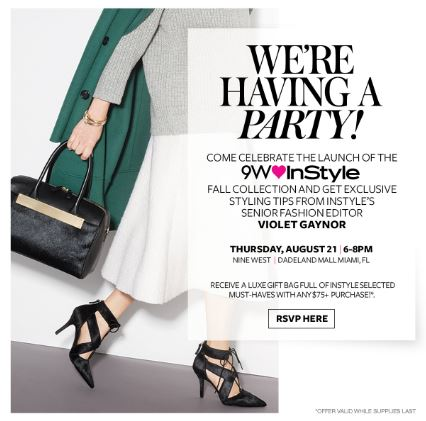 Nine West & Instyle Blogger Party