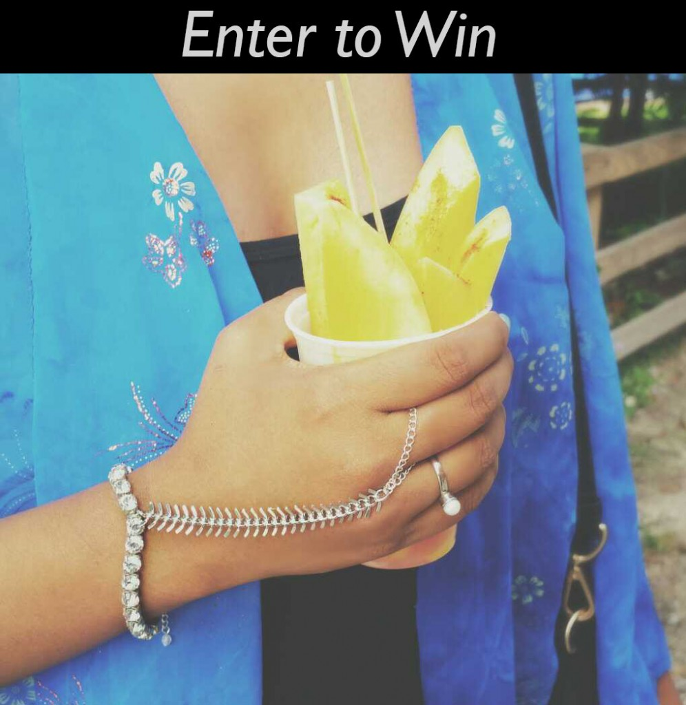 Enter to win hand chain jewelry