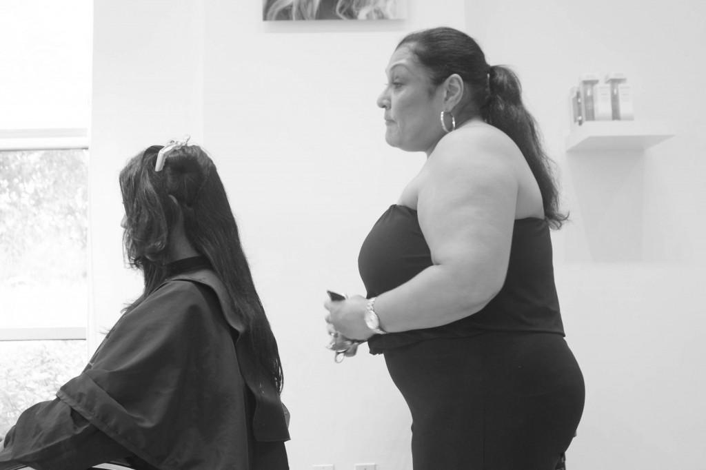 True Hair Miami Ellie Long Hair Consultation1