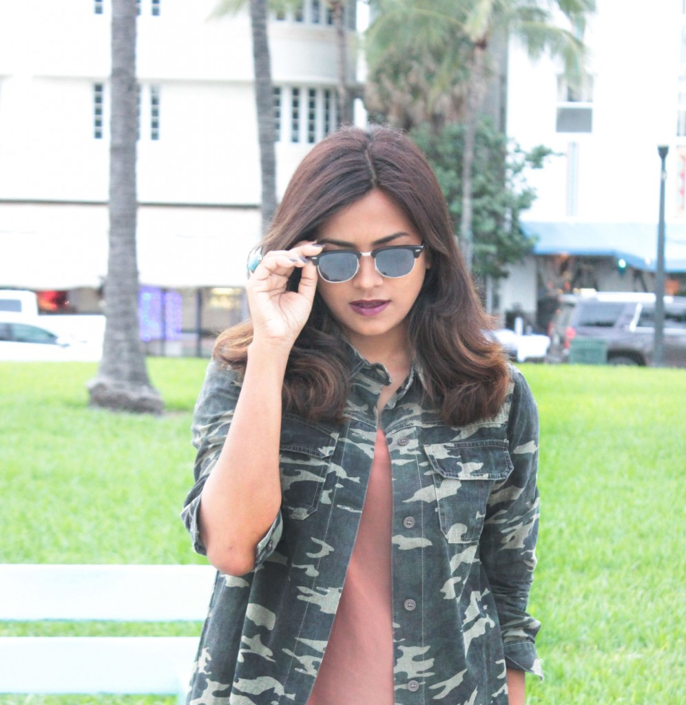 Fall Camouflage Jacker Fashion Blogger Chic