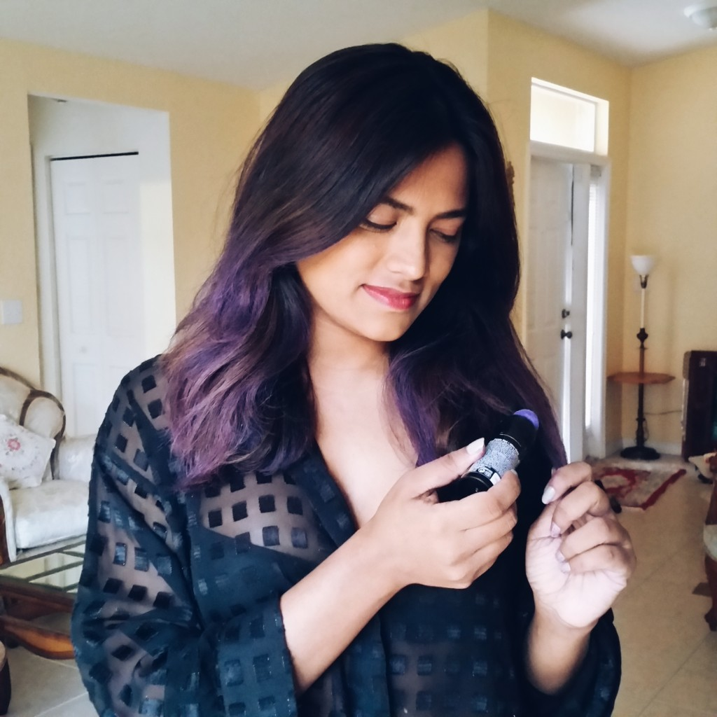 Miami Fashion Blogger Redken Color Rebel Purple Ombre