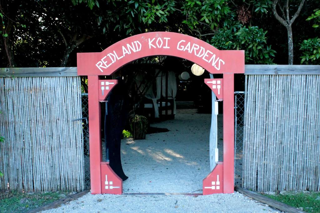 Redland Koi Gardens Miami Florida