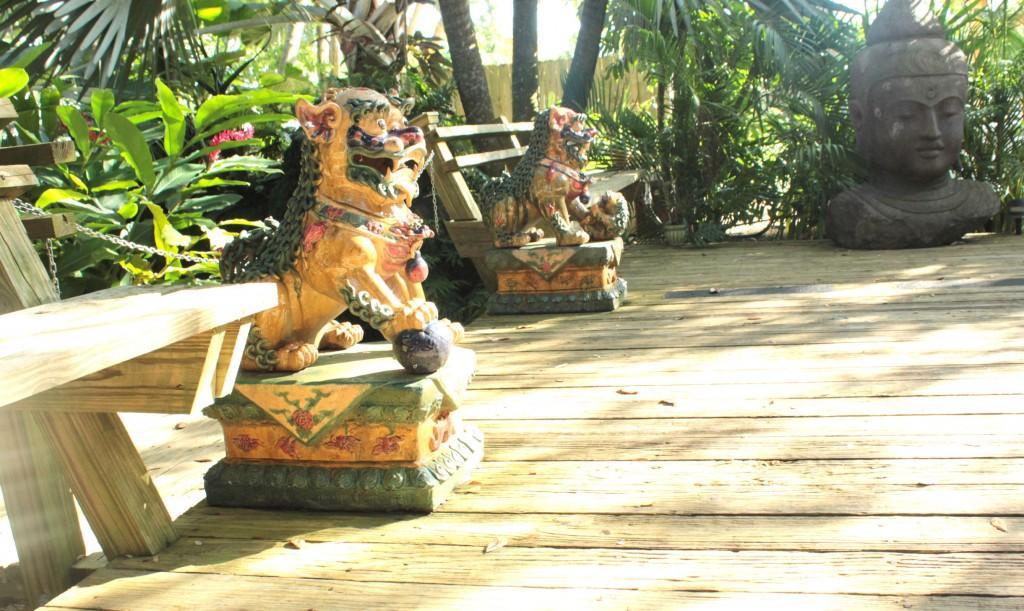 Redland Koi Pond Statues