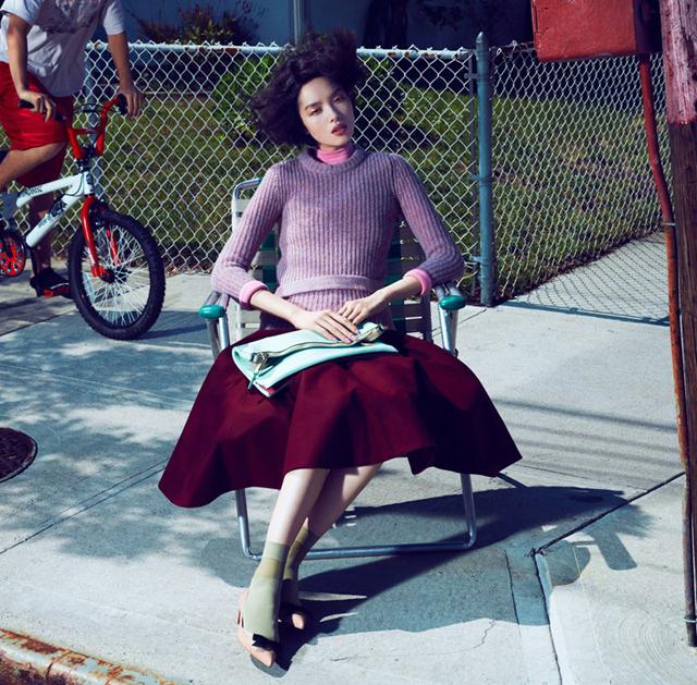 Wine Oxblood Red Shades Fashion Editorial