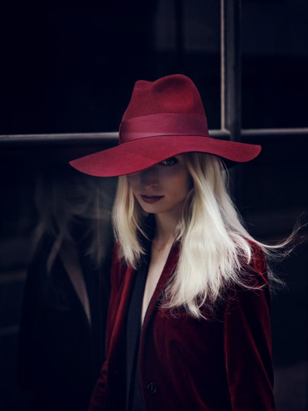Wine Red Oxblood Hat Fashion