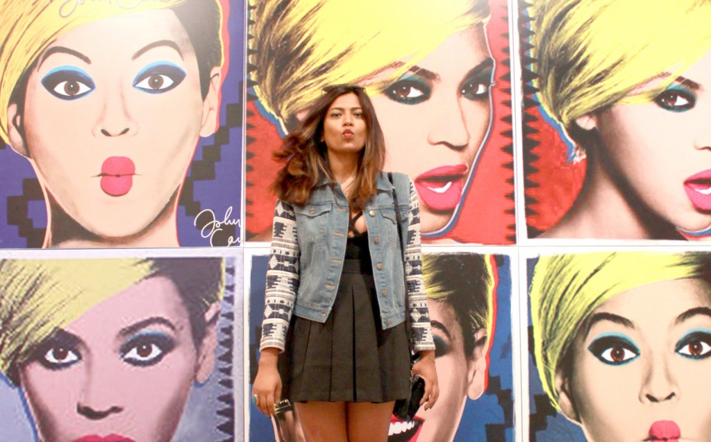 Art Basel 2014 Miami Beach Convention Center Beyonce Fashion Blogger