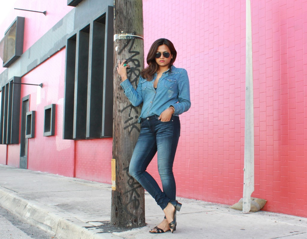 Vigoss Jeans Fashion Blogger Chic Stylista Afroza Khan