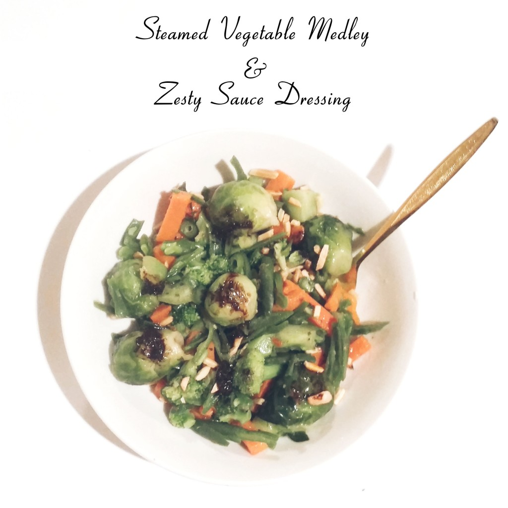 Green GIant Steamed Vegetable Medley with Zesty Sauce
