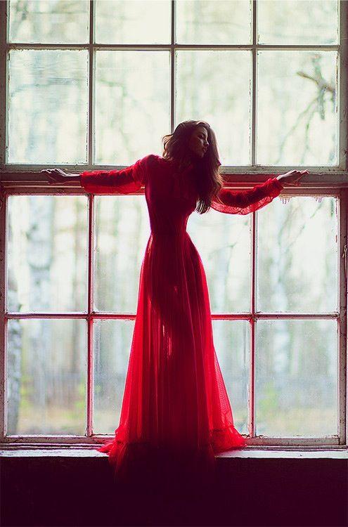 Image Result For Siva Aprilia Photoshoot Palembang Red Dress