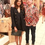 Fashion Blogger Afroza Khan & Fashion Designer Custo Dalmau