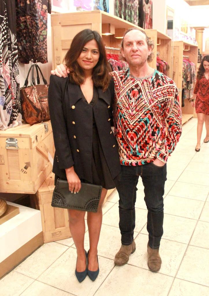 Fashion Blogger Afroza Khan & Fashion Designer Custo Dalmau