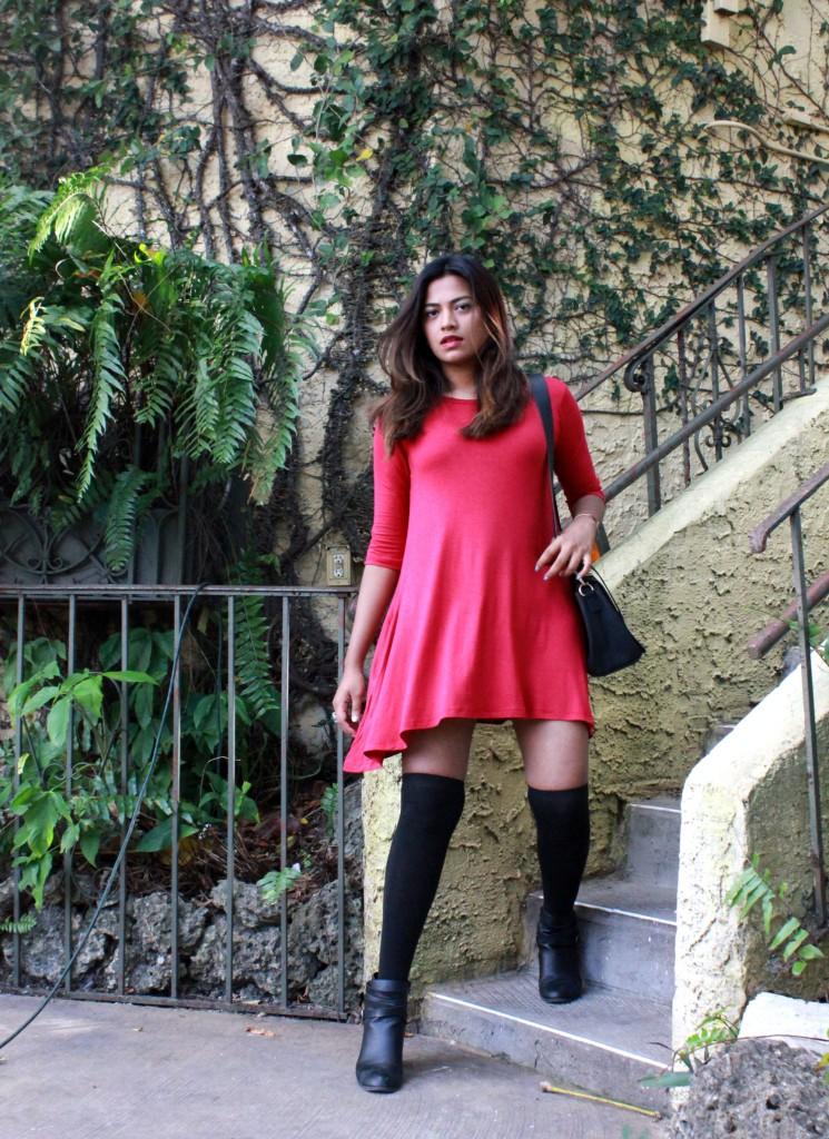 Miami Fashion Blogger Red Dress Chic Stylista