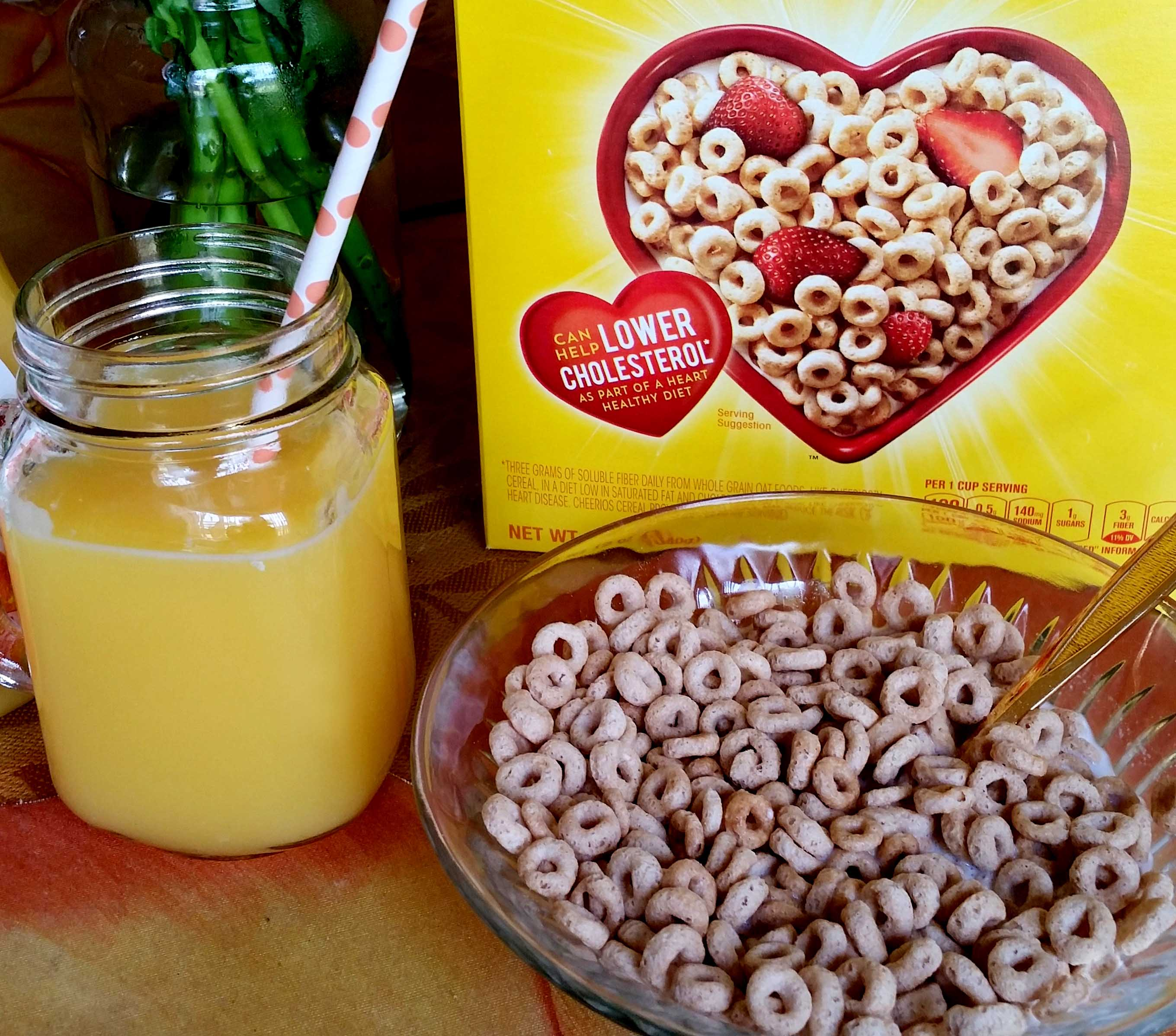 Cheerios & Florida Orange Juice Foodie Blogger