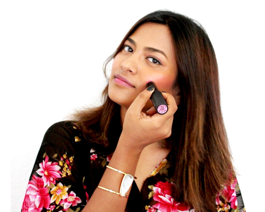 Miami Beauty Blogger Afroza Khan Rosy Pink Makeup
