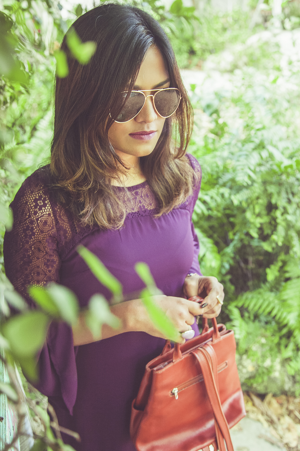 Chic Spring Purple OOTD