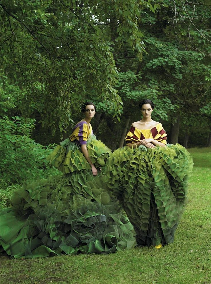 Earth Day Green Editorial