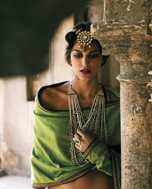 Indian Green beauty