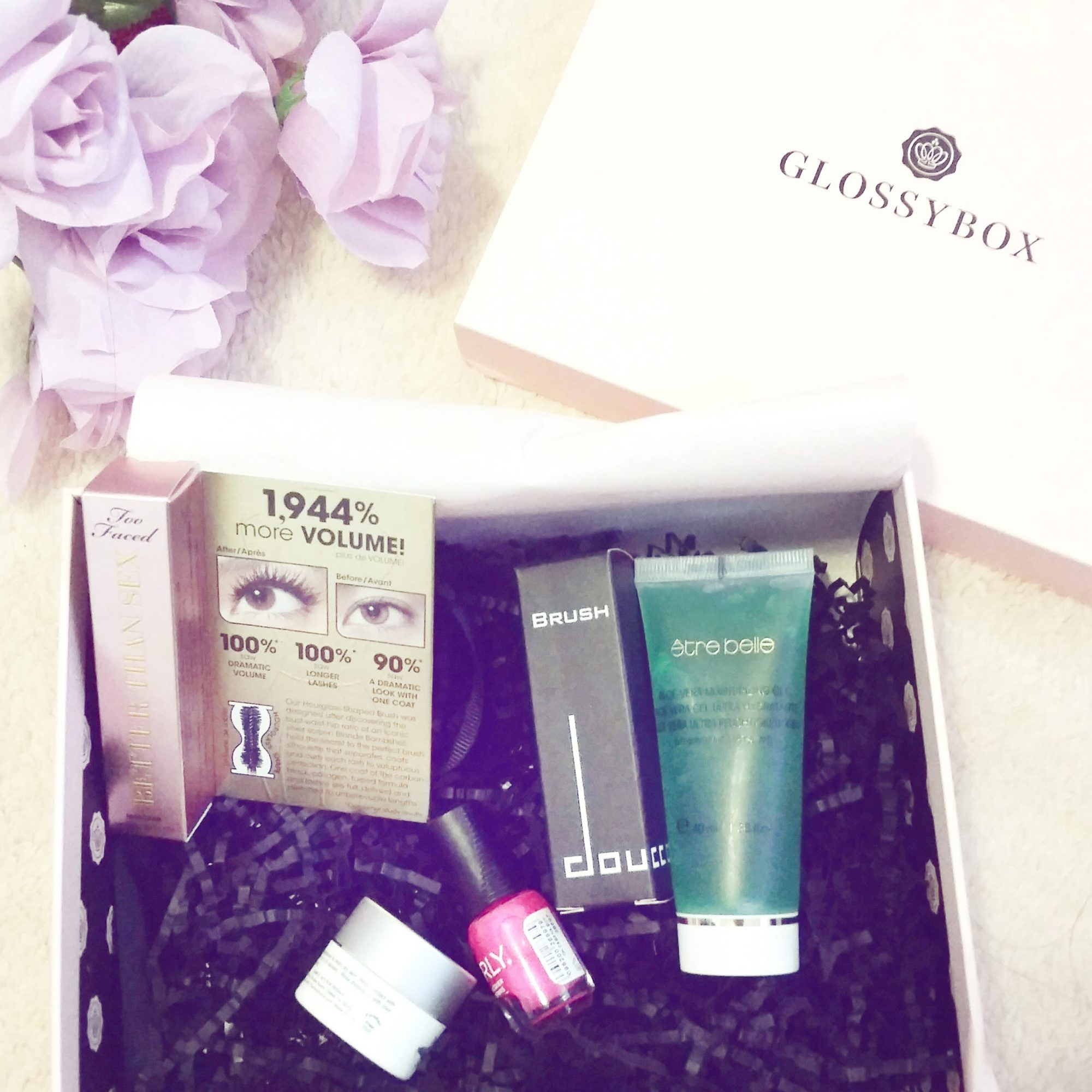 Fashion Beauty Blogger Influencer Glossybox Review