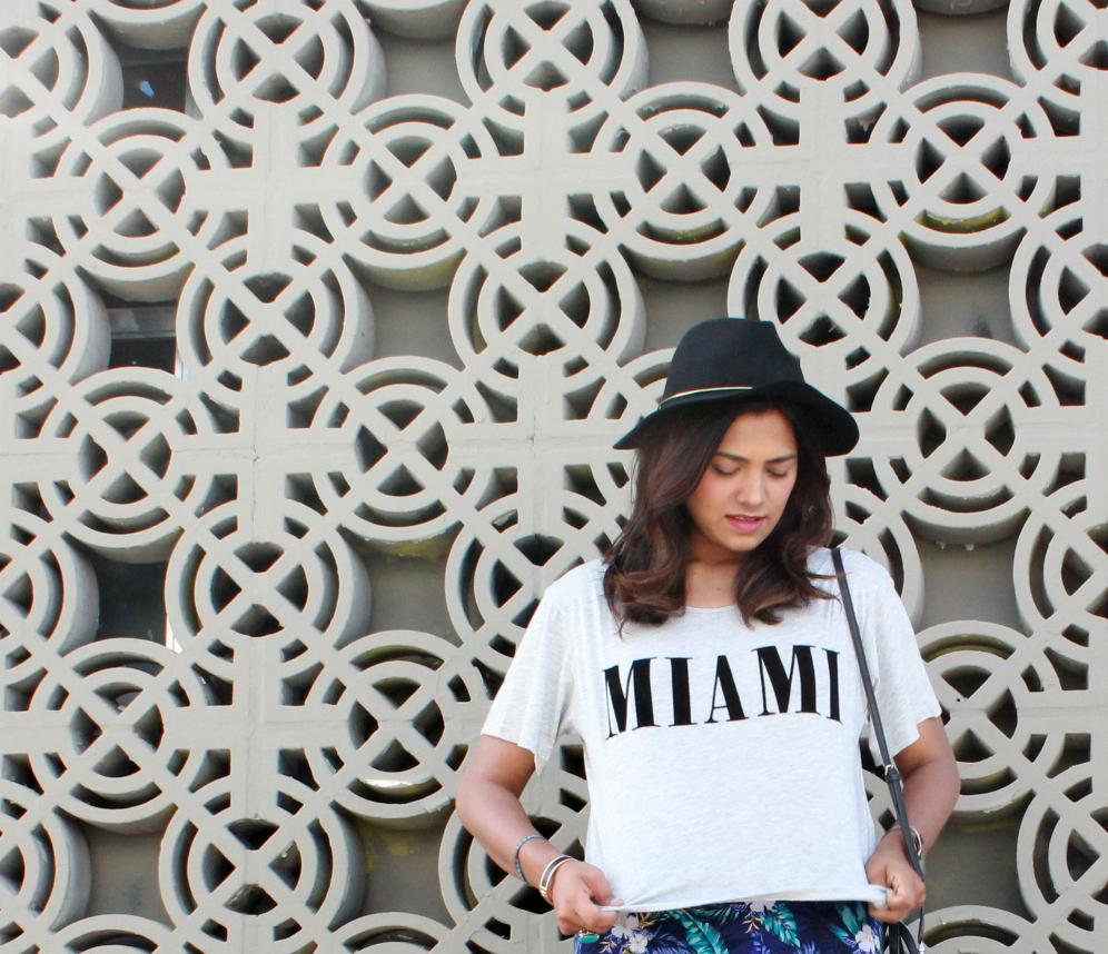 Miami T-shirt H&M Miami International Mall