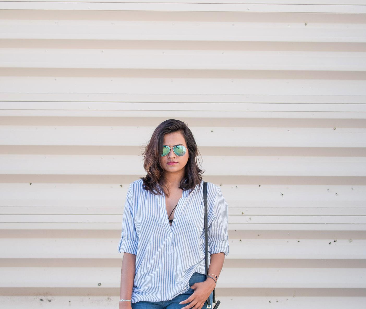 Afroza Khan Bengali Fashion Blogger