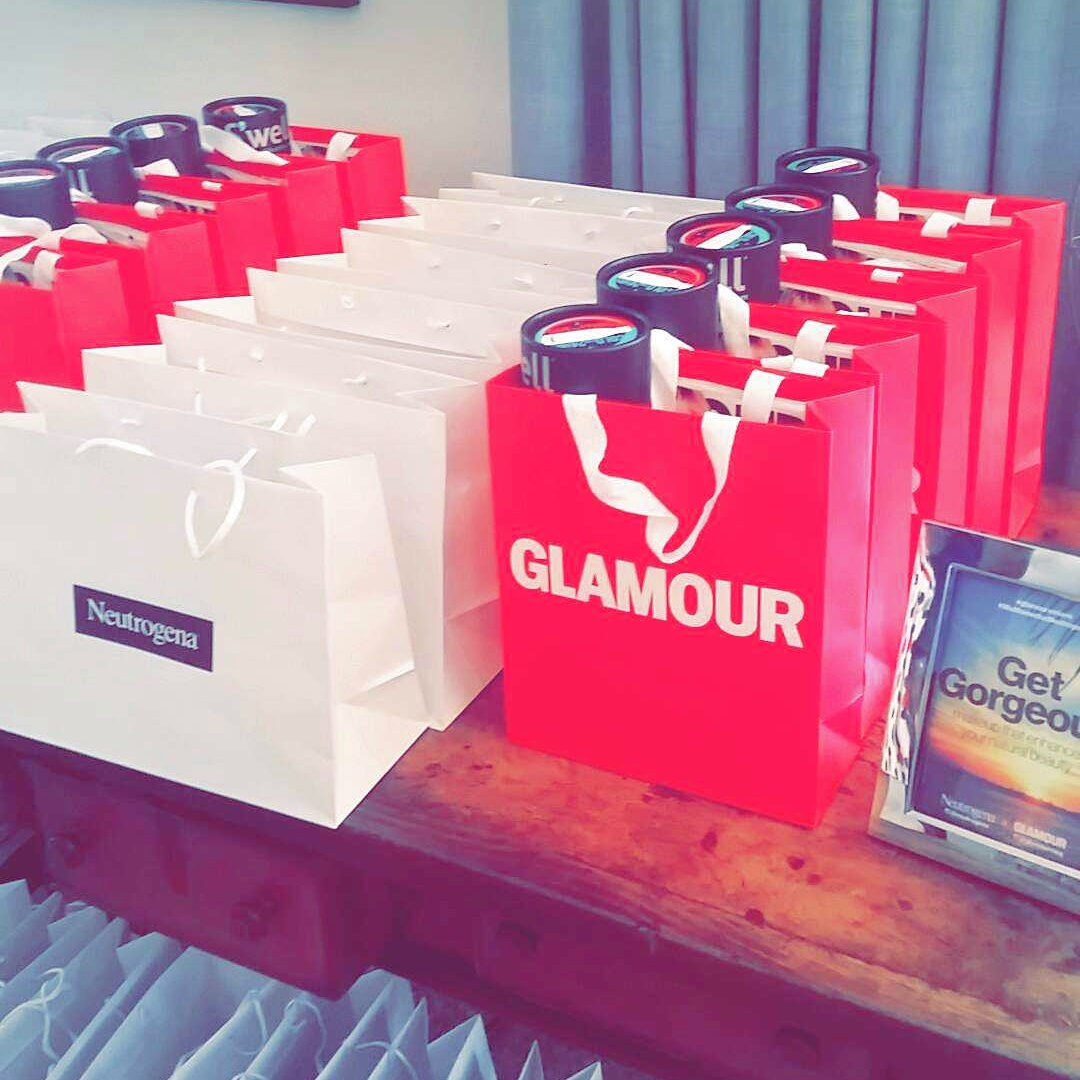 Glamour Magazine Brunch with NanysKlozet