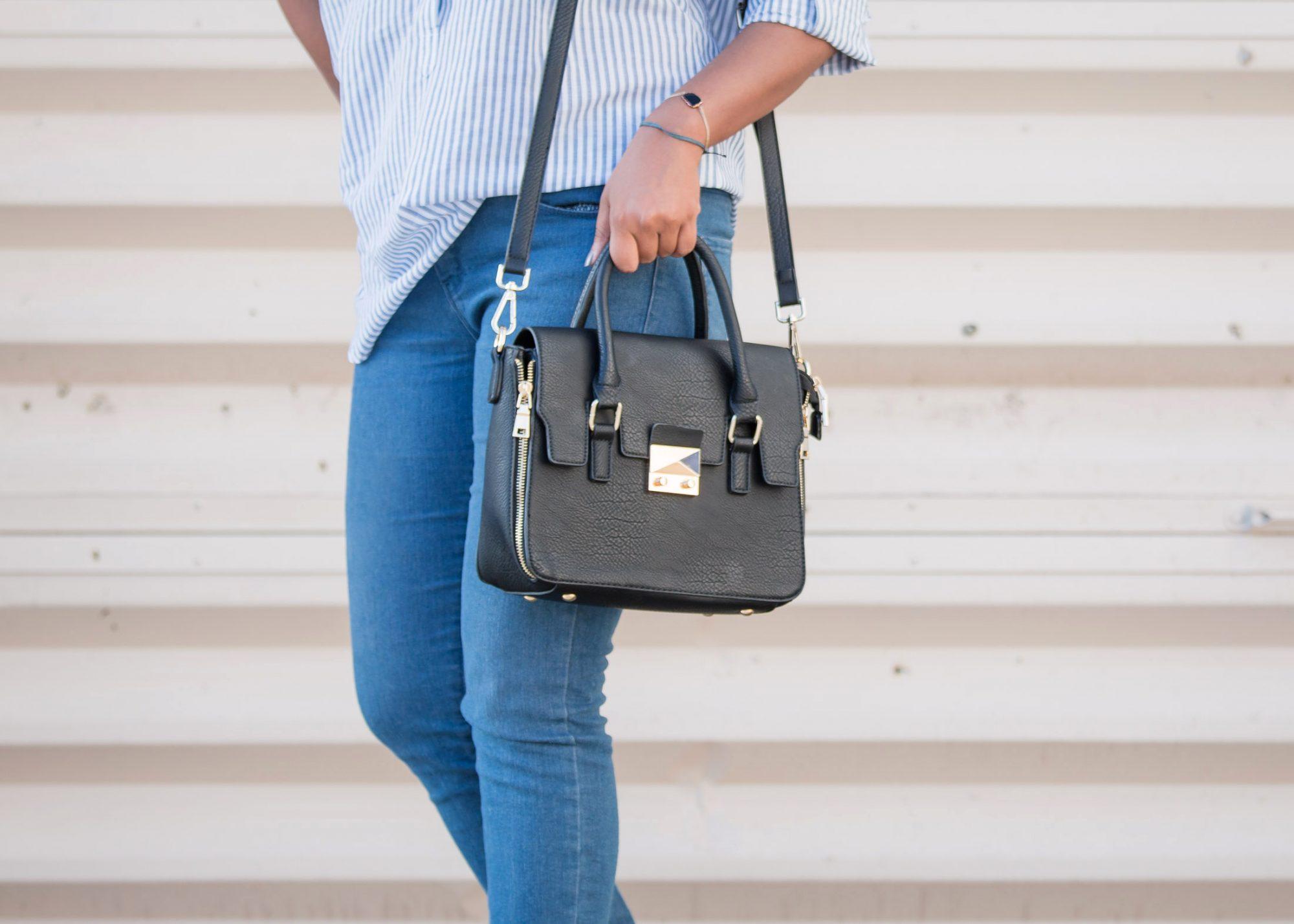 TJMAXX Maxxinista Satchel Handbag Fashion Blogger
