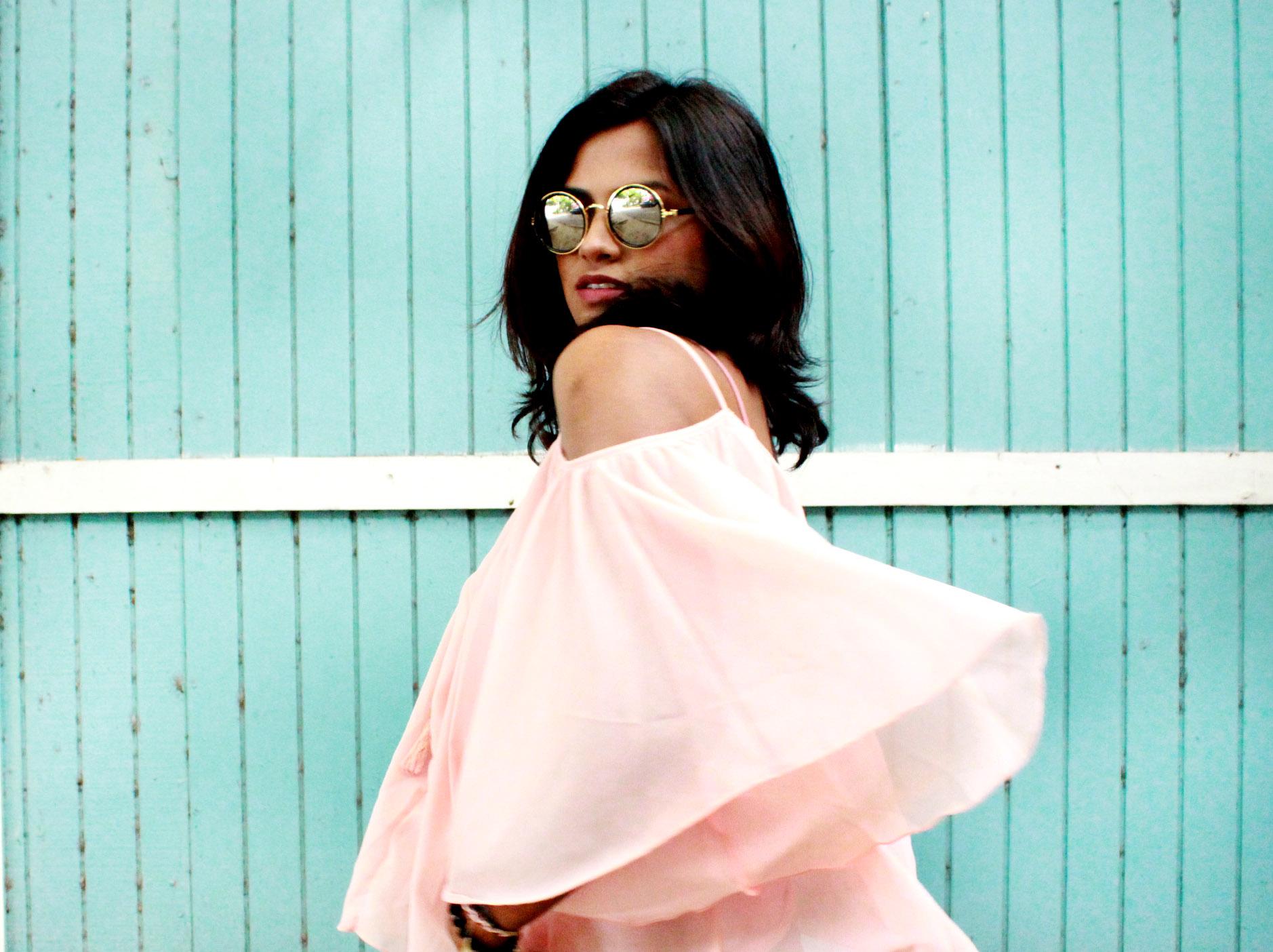 Indian Fashion Blogger Afroza Khan