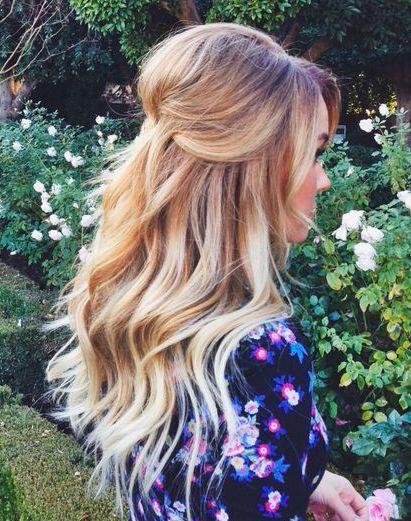 Lauren Conrad Retro Pouf Hair Style