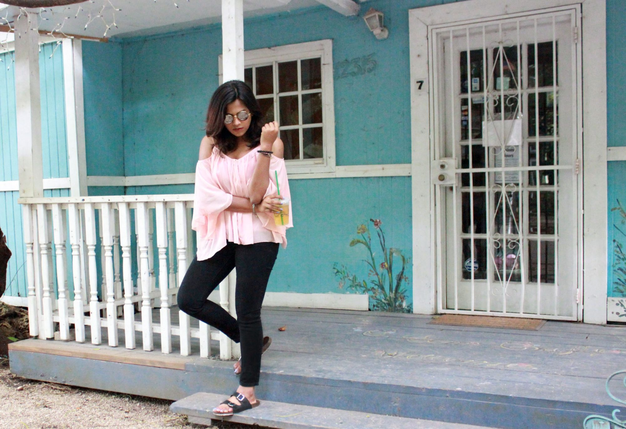 Miami Blogger Fashion Style Pink & Black
