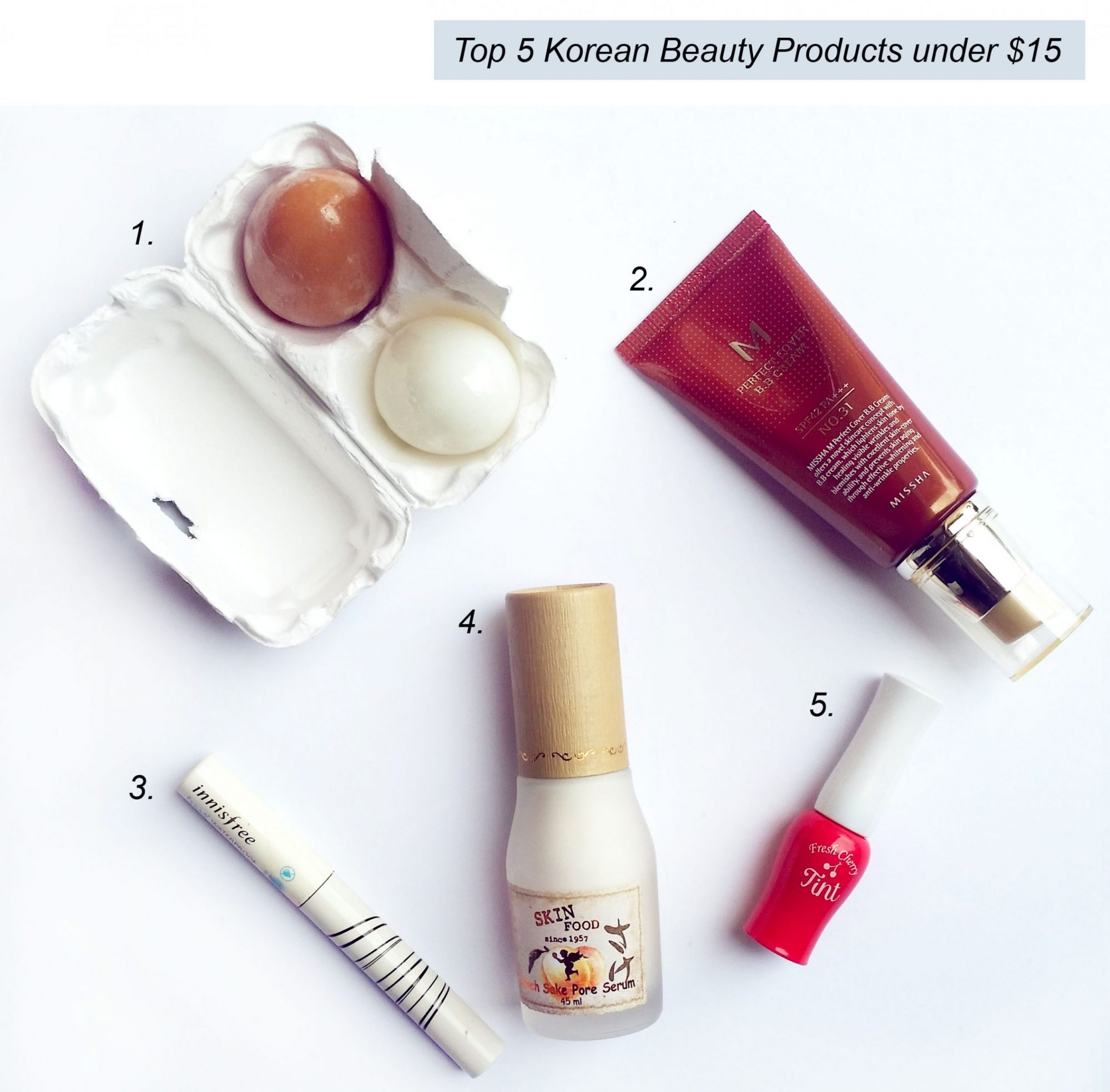 Top 5 Korean Beauty Products Blogger