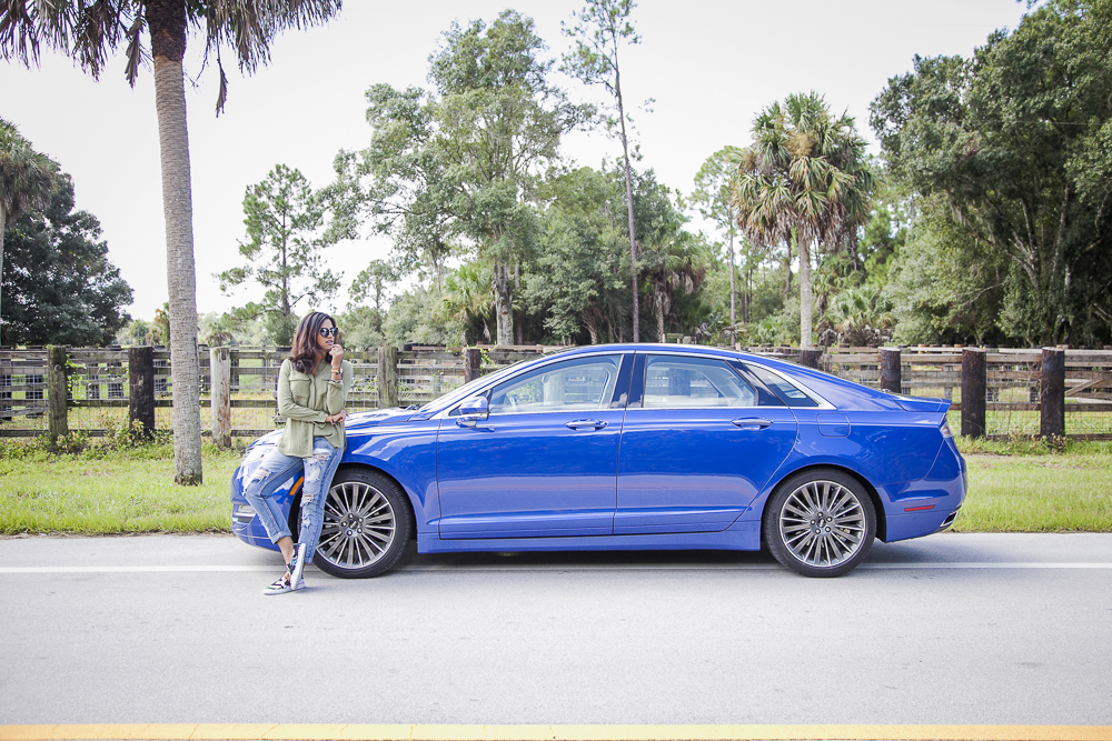 Lincoln MKZ 2016 Luxury Sedan Road-trip Florida