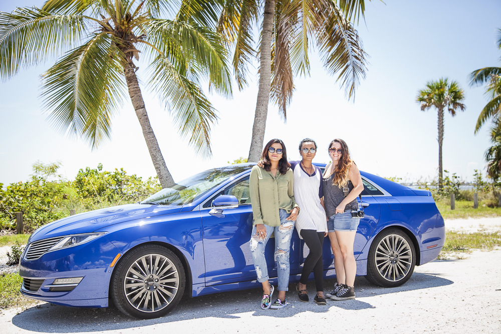 Girls' Roadtrip to Sanibel Lincoln MKZ