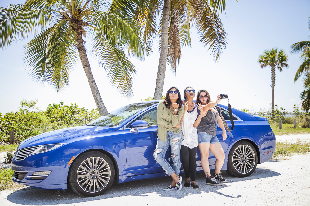 Travel Blogger Road Trip to Sanibel Lincoln MKZ