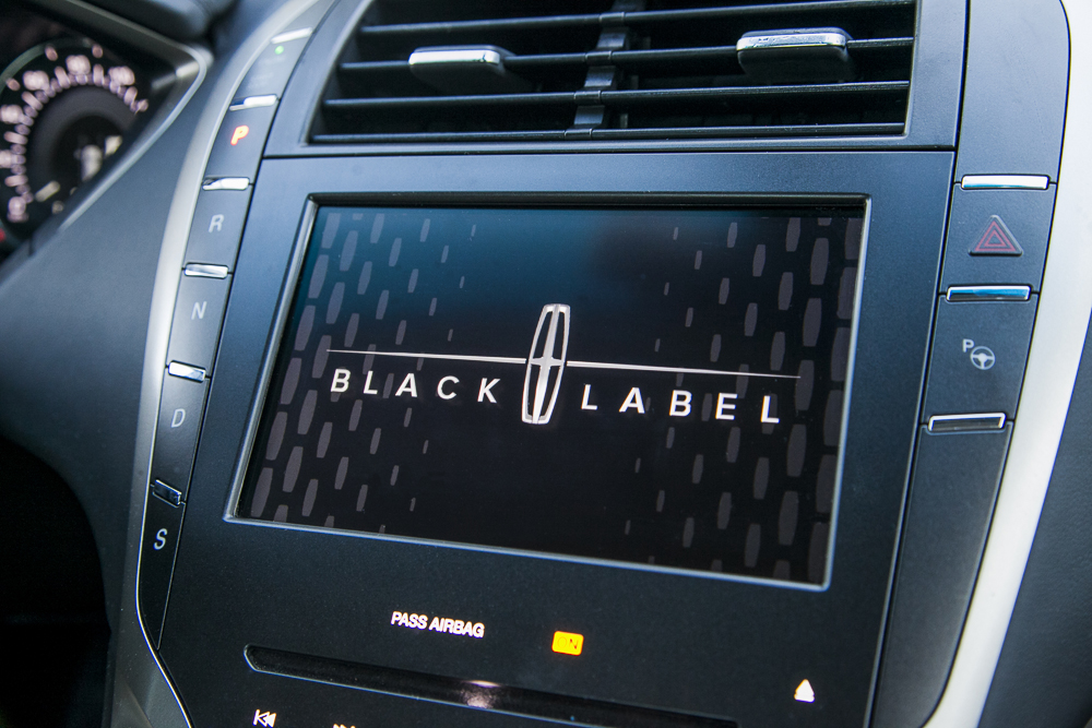 Lincoln MKZ Luxury Sedan Notorious Black Label