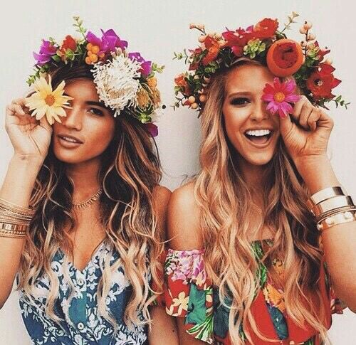 Flower Child Halloween Costume Idea