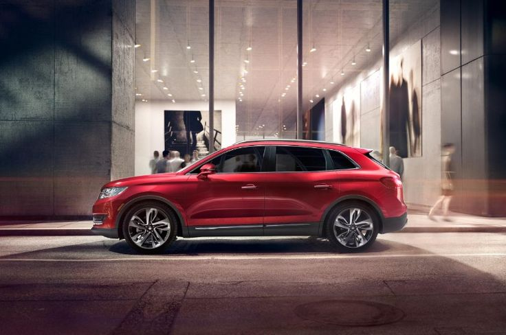 Lincoln MKX 2016 Red
