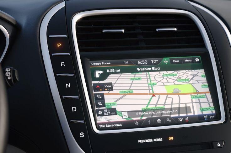 Lincoln MKX GPS Navigation