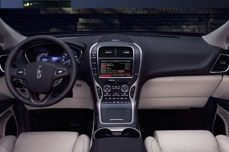 Lincoln MKX Interior 2016