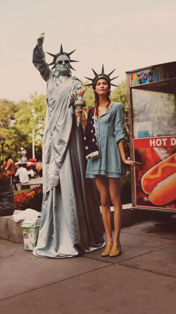 Statue of Liberty last minute halloween costume